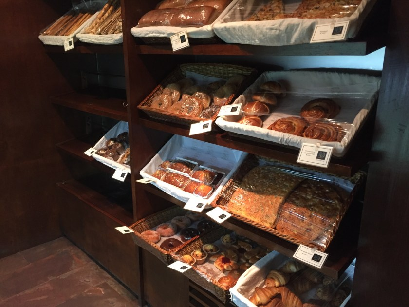 Breads section