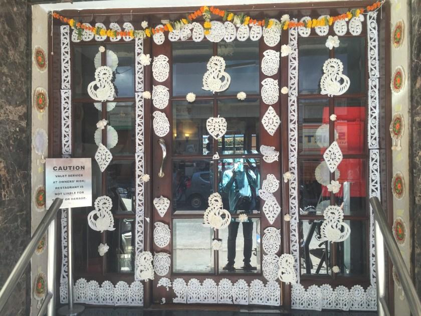 facade during nabobarsho festival