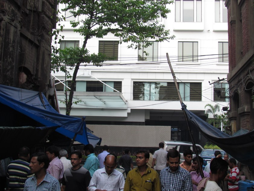 View of great eastern hotel from jalebiwala