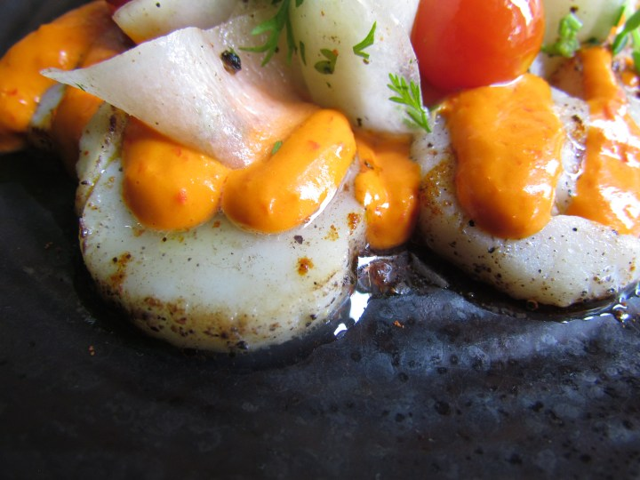 atlantic scallop tiradito