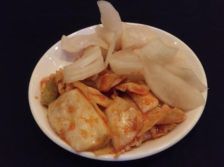 crunchy kimchi