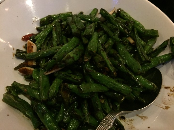 French bean sautéed
