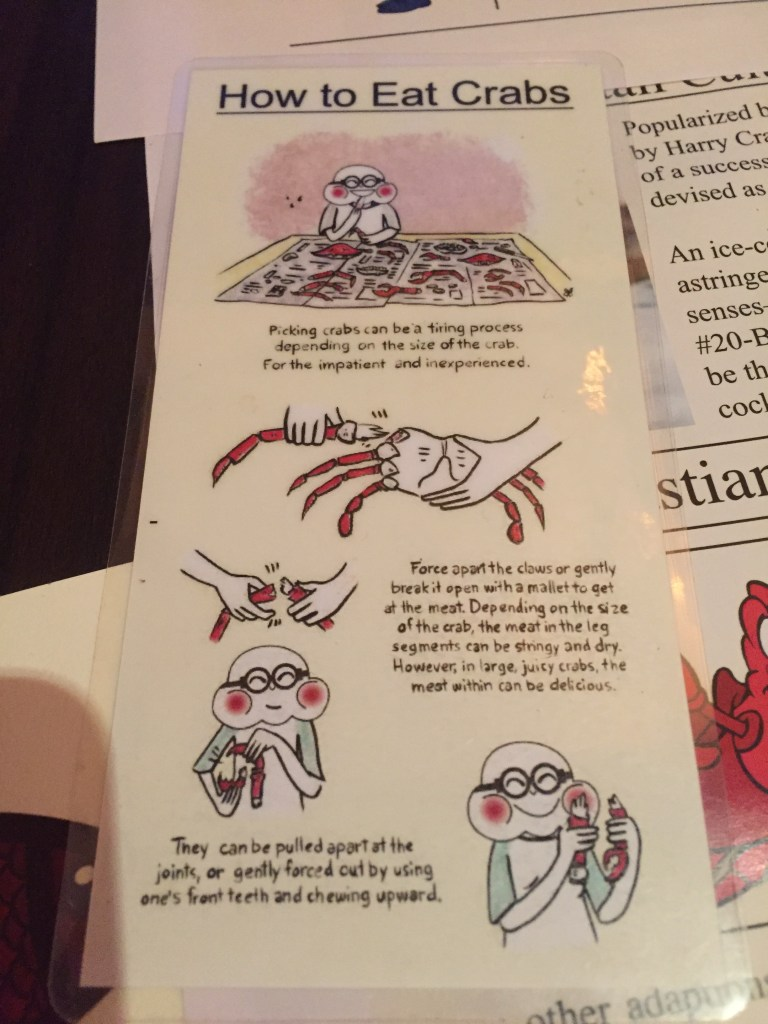 how to eat crab