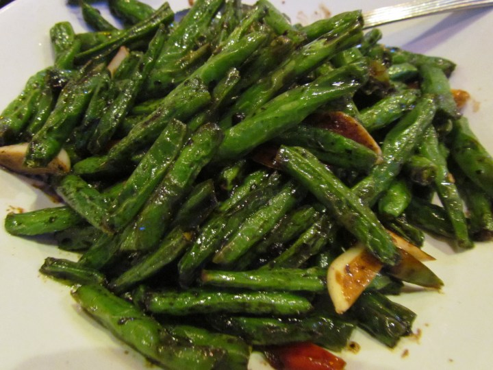 beans stirfried