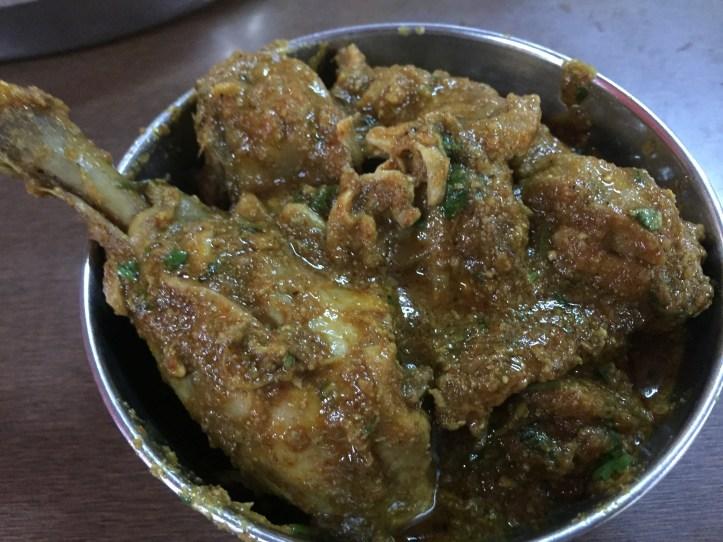 Chicken dry