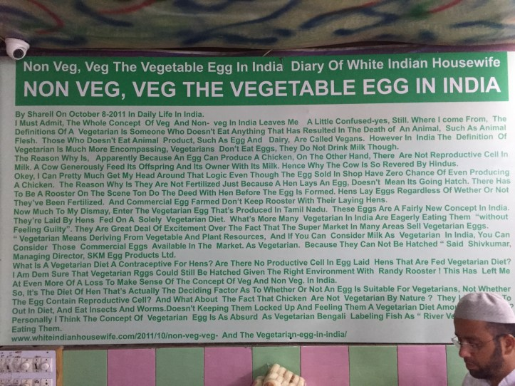 write up about egg eating habits of Indians