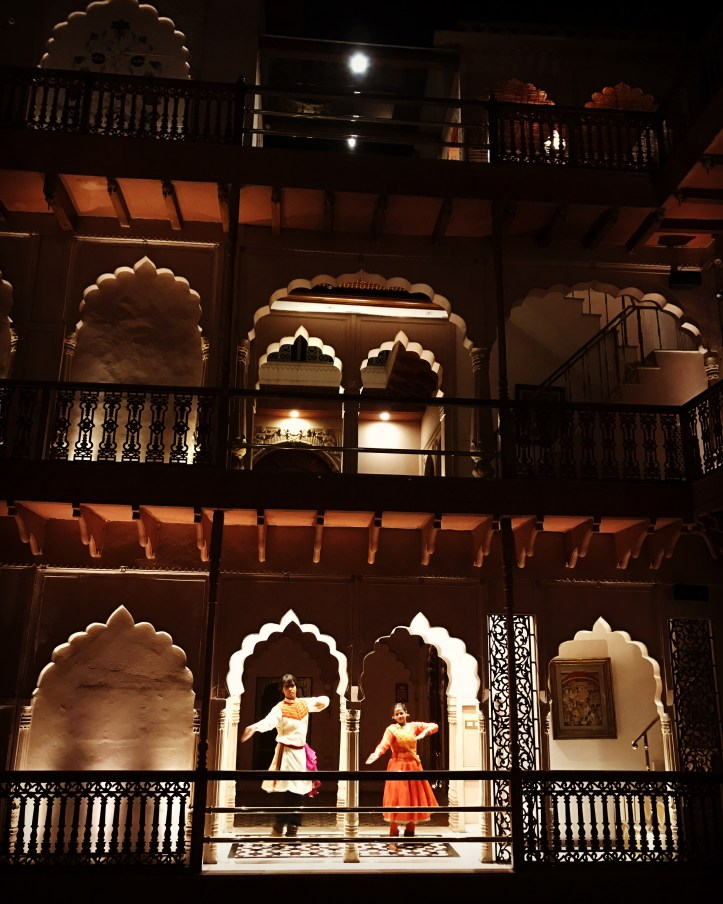 inside the haveli