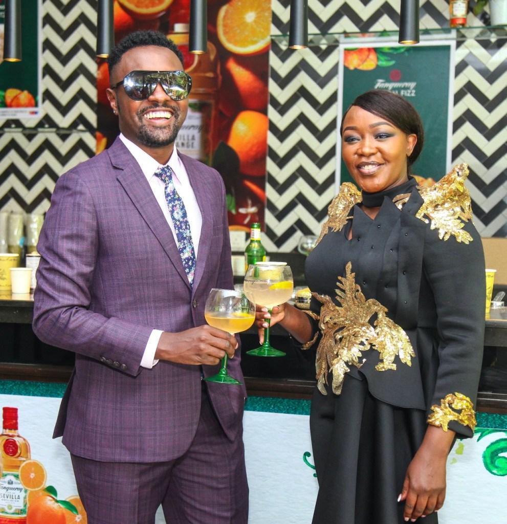 Tanqueray Flor de Sevilla Kenya launch