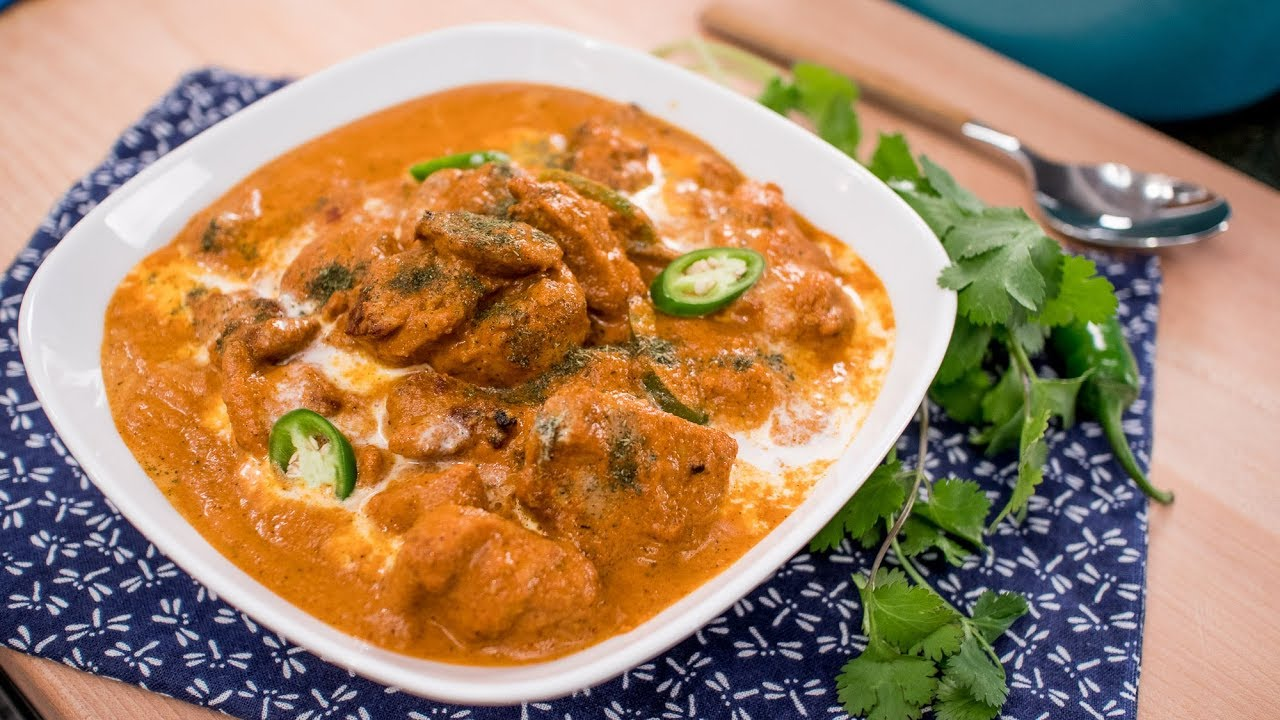 Butter Chicken Recipe (Murgh Makhani) – Pai's Kitchen! | Recipes Videos