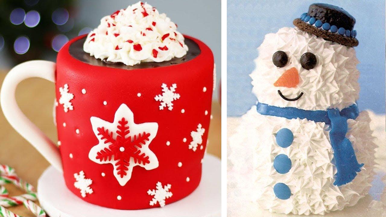 Last Minute Christmas Cake Decorating Ideas