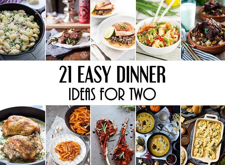 Easy Dinner Ideas Two