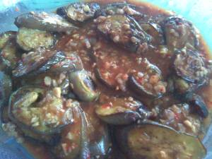eggplant-in-oyster-sauce