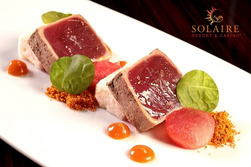 Solaire_Strip_Seared Tuna - Bloggers