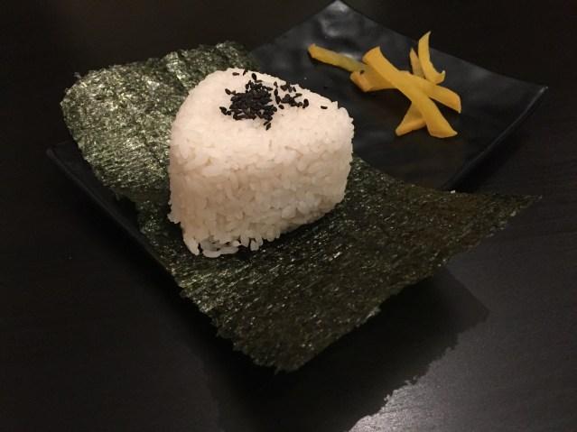 Onigiri de Umeboshi