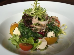 restaurante big fish ensalada wakame