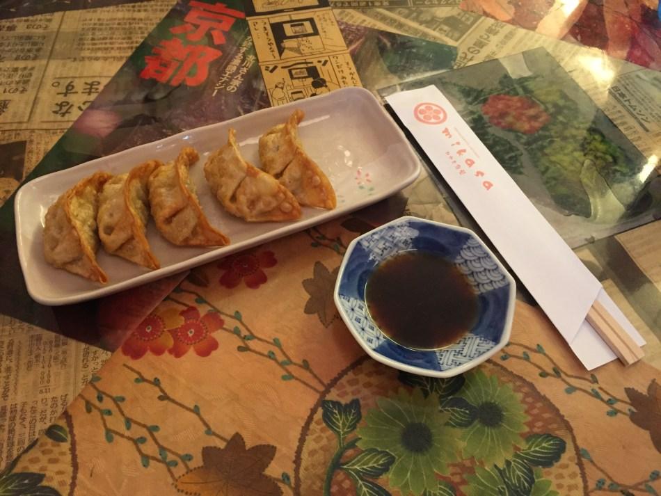 restaurante mikasa gyozas