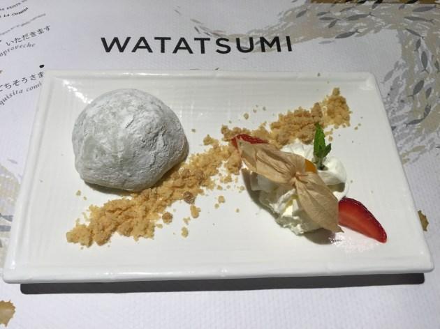 postres watatsumi Daifuku de Té Verde
