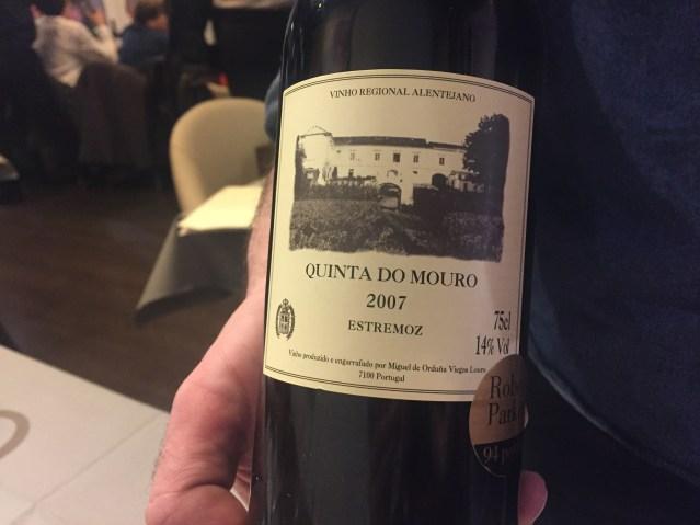 restaurante a gaudir vinos portugueses