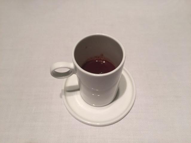 restaurante abac infusion caliente de chocolate