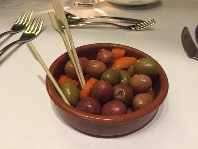restaurante galaxo aperitivo
