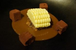 hoja santa helado de maíz