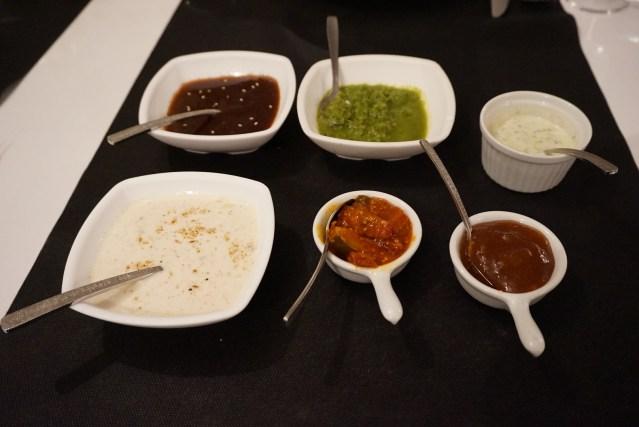restaurante sitar salsas indias