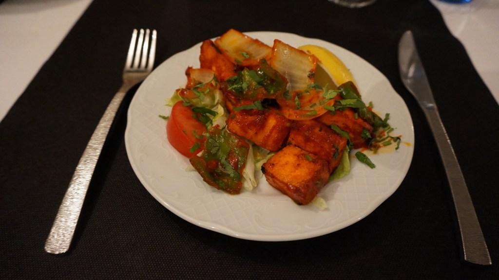 restaurante sitar paneer tikka