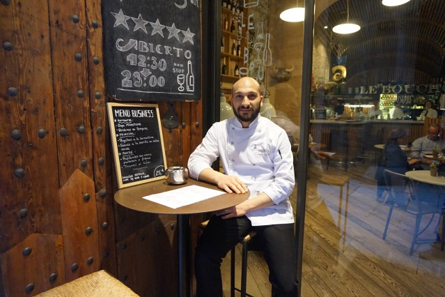Cristian Leonetti, Jefe de Cocina de Le Bouchon by Giuseppe