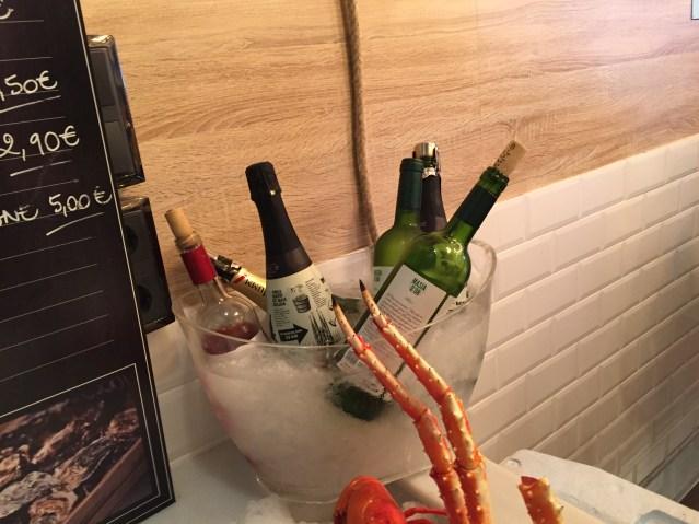 Joël's Oyster Bar carta de vinos