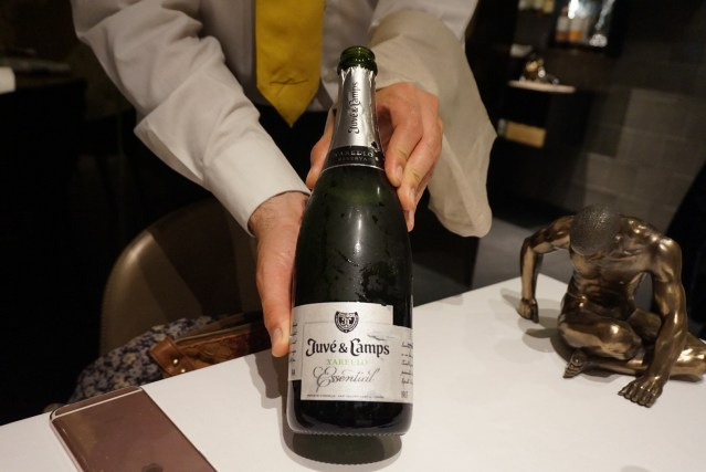 vinos de la Taverna del Clínic Cava Juvé & Camps Xarel·lo Essential
