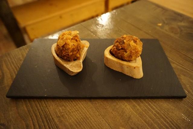La Castanya Croquetas de Osobuco y Gremolata de Cítricos