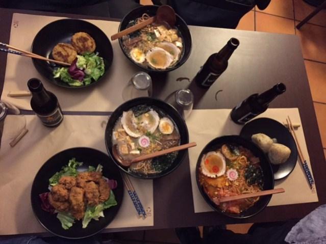Restaurante Kawamura Ramen en Barcelona