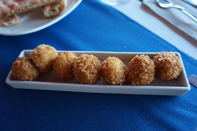 Croquetas de Jamón del restaurant Can Miquel (Cala Montgó)