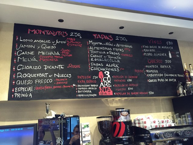 Bar 13 Cuarenta de Sevilla
