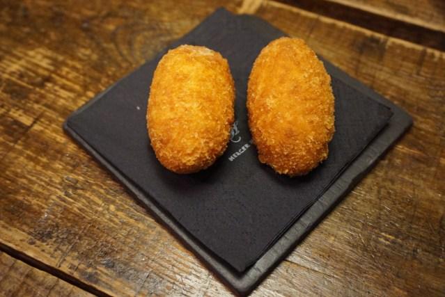 """Le Bouchon Harry Wieding Croquetas de Patata y Queso """"Idiazábal"""""""