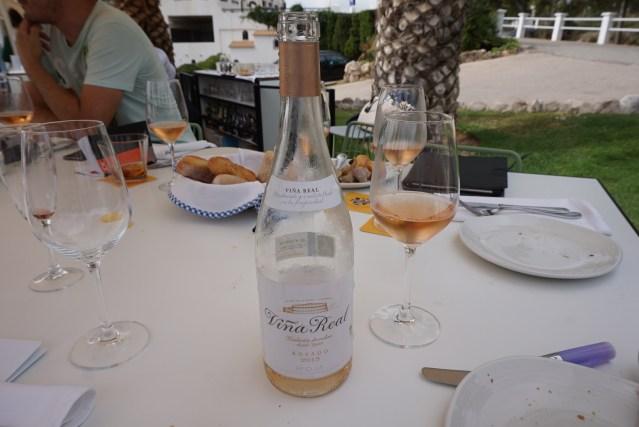 la cucanya Rioja Viña Real Rosado 2015