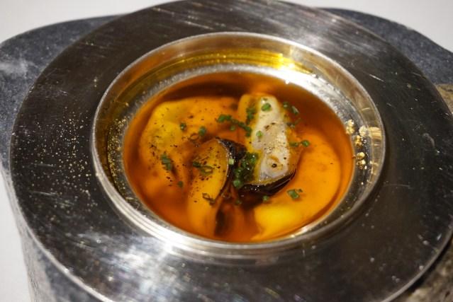 Escabeche de Mejillones Mercer Restaurant Harry Wieding