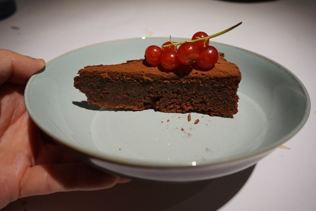 Solomillo Restaurante Tarta de Chocolate