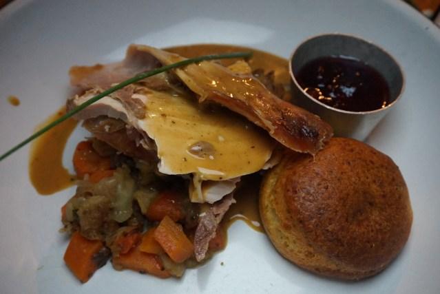 Pavo del Día de Acción de Gracias en Picnic Restaurant