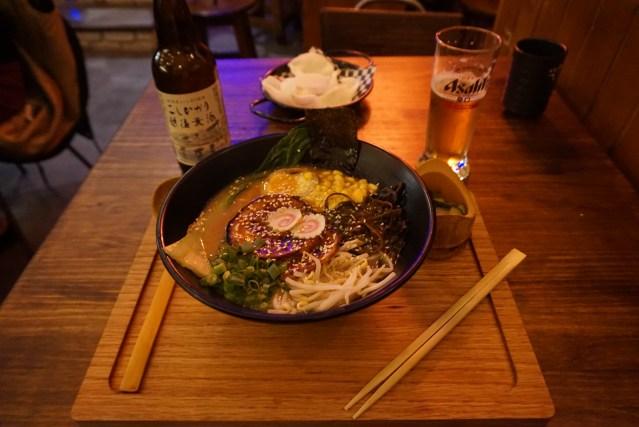 Ramen de Miso de Ninja Ramen Restaurante