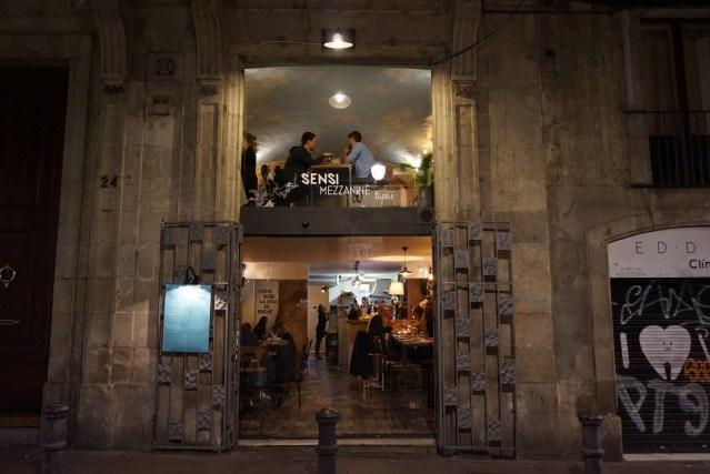 restaurante Sensi Mezzanine