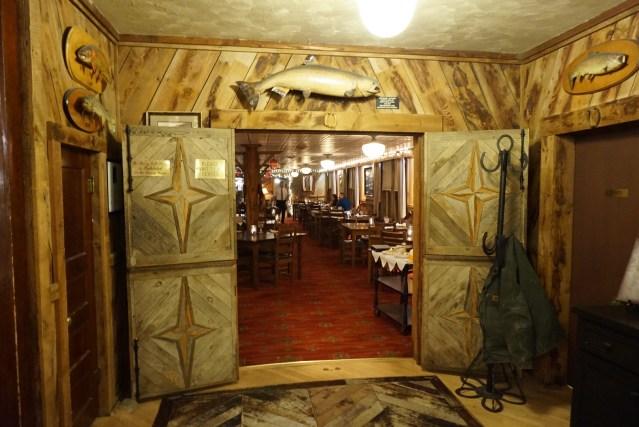 Chico Hot Springs Restaurant