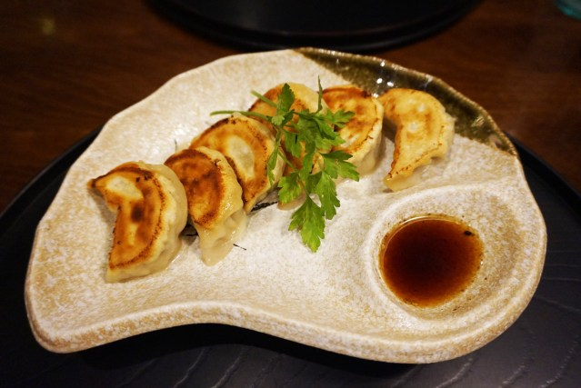 Rakumi Restaurante Barcelona Yaki Gyozas