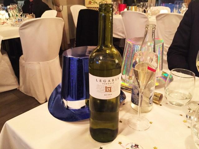 Restaurante Villa Mercedes Vino Blanco Legaris Verdejo D.O. Rueda