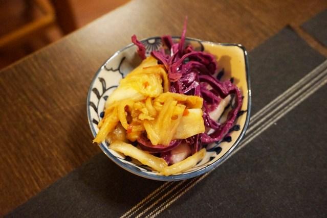 Ramen-Ya Ajisen aperitivo de col lombarda