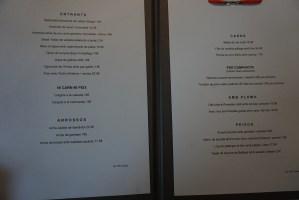restaurant el centre carta platos menu