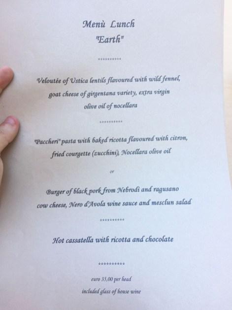 menu osteria dei vespri