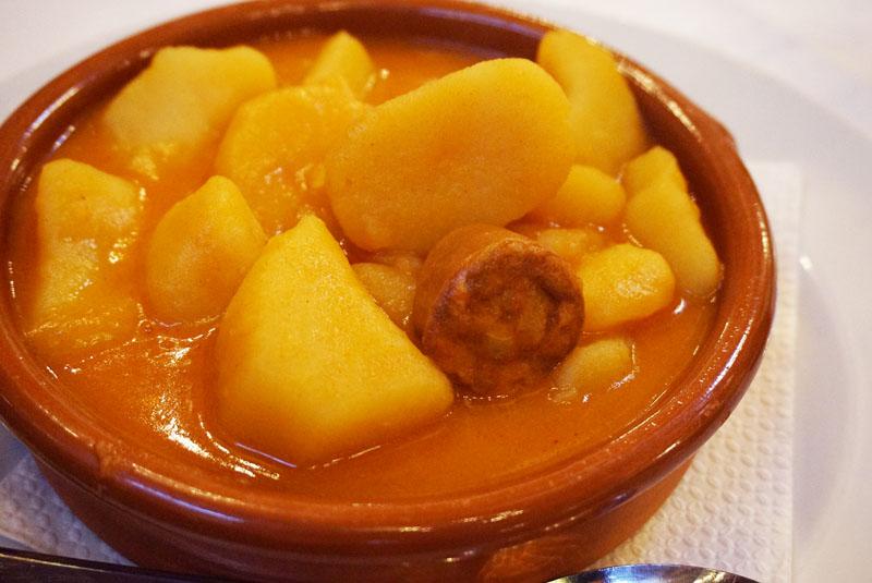 Biazteri Laguardia patatas a la riojana