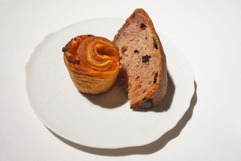 Diferentes tipos de panes en el celler de can roca 2018