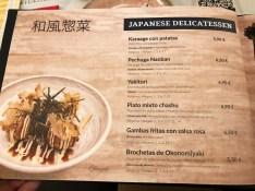 menu ryukishin valencia
